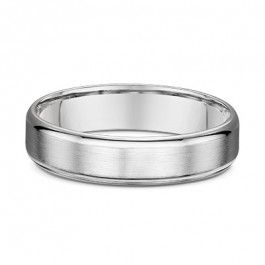 Dora Platinum Smooth European Mens Wedding Ring - Dora 1134000-A14232