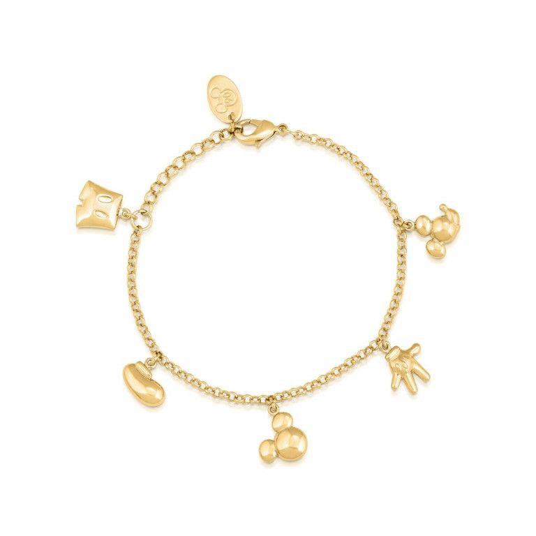 Disney Couture Mickey Mouse Icon Charm Bracelet - DYBR342